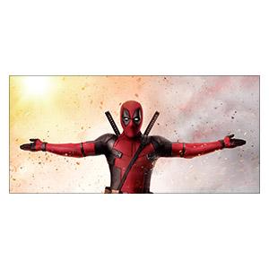 Неформатный постер Deadpool. Размер: 130 х 60 см